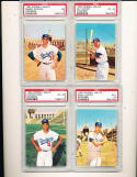 1960 Morrell Meats Los Angeles Dodgers Near set (11/12) psa graded