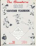 1966 Washington Senators Baseball Yearbook nm