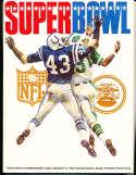 Superbowl 3 1969 world championship Football Program nm Jets