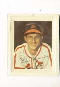 Stan Musial 1950's ST. Louis Cardinals Metal Plate 5x6