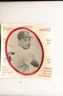 1963 Photo Linen Emblem Tom Tresh New York Yankees