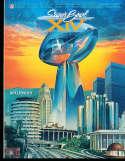 Superbowl XIV 14 Football Program NM Los Angeles Rams vs Pittsburgh Steelers  sb1