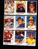 1978 Hostess baseball cards 50 uncut 1-150 cards nm