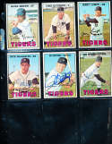 Jim Northrup #408 Detroit Tigers  1967 Topps SIGNED