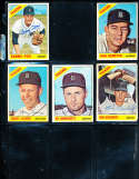 Ray Oyler #81  Detroit Tigers 1966 Topps SIGNED