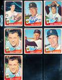 Jack Hamilton #288 Detroit Tigers 1965 Topps SIGNED