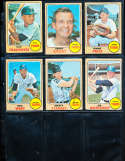 Jim Northrup #78 vg Detroit Tigers  1968 Topps SIGNED