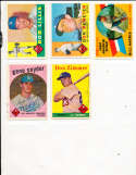 Bill Harris #128 Rookie Los Angeles Dodgers 1960 Topps SIGNED