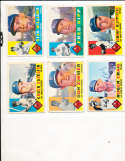 Johnny Klippstein #191 Los Angeles Dodgers 1960 Topps SIGNED