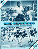 SMU 1980 Holiday Bowl & press Notes Eric Dickerson