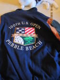 2000 Pebble Beach 199th US Open Jacket  Dehen Jackets XL