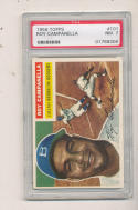 1956 topps #101 Roy Camanella Brooklyn Dodgers grey back psa 7 NM