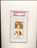 1954 Johnston Cookies Warren Spahn milwaukee Braves #21 card psa 8.5 mint (1 of 1)