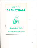 1959 University of Idaho Basketball Media & Press guide rare!