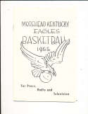 1955 Moorehead State Basketball Media & Press guide rare!