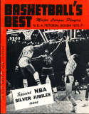 1970 Basketball Best NBA Pictorial review yearbook Wilt Chamberlain