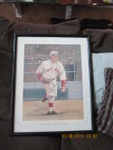 Babe Ruth Boston Red Sox  Great 38/100 Dick Perez Print