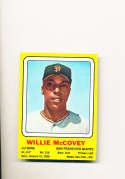 1970 Willie McCovey Transogram card Giants nm