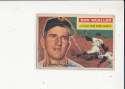 1956 Topps signed #241 Don Mueller New York Giants ex