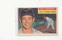 1956 Topps signed #241 Don Ferrarese Baltimore Orioles