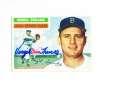 1956 Topps signed #117 Virgil Trucks Detroit Tigers