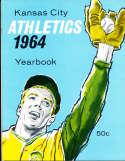 1964 Kansas city Athletics Baseball Yearbook em bxb1