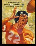 1939 10/28 Florida vs Maryland Football Program