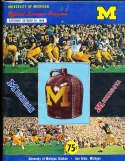 1968 10/26 Michigan vs Minnesota football program