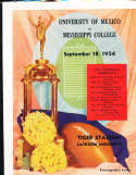 1954 Mexico vs Mississippi College football program