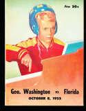 1962 10/8 Florida vs George Washington Football Program