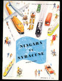 1948 9/24 Niagara vs Syracuse football program