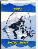 1959 10/31 Navy vs Notre Dame football program