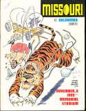 1969 11/8 Missouri vs Oklahoma football program
