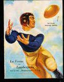 1937 11/11 La Verne vs ASU football program