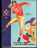 1937 12/4  Santa Barabara vs New Mexico state football program