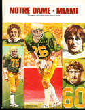 1978 10/28 Notre Dame vs Miami Football Program