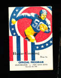 1941 11/22 Southwestern vs Fort Hays State  football program