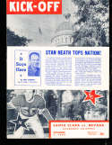 1948 11/7 Santa Clara vs Nevada football program