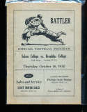 1930 10/16 Salem vs Broaddus College football program