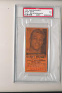 1958 San Francisco Willie Mays Giants Call-bulletin nm psa 7