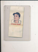 1960 topps Tattoo Baseball Rocky Colavito Cleveland Indians card