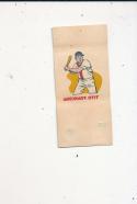 1960 topps Tattoo Baseball card Tito Francona Cleveland Indians