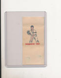 1960 topps Tattoo Baseball Ray Herbert card