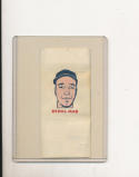 1960 topps Tattoo Baseball card Sam Jones San Francisco Giants