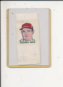 1960 topps Tattoo Baseball card Gene Freese chicago White Sox