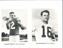 1960 New York Giants 12 Picture Pack card Frank Gifford Charlie Conerly em/nm