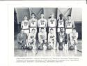 1959 Syracuse Nationals Complete Basketball team issue card set em/nm -4 signed