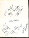 10 Philadelphia 76ers signed menu Hal Greer, Bailey Howell, Bud Ogden