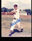 Eddie Mathews Milwaukee Braves  8x10 signed