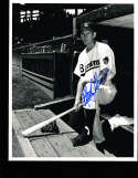 Marty Marion St. Louis Browns dugout 8x10 signed